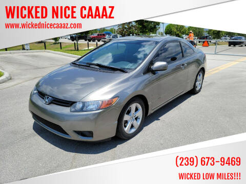 2008 Honda Civic for sale at WICKED NICE CAAAZ in Cape Coral FL