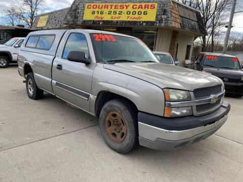 2003 Chevrolet Silverado 1500 for sale at Courtesy Cars in Independence MO