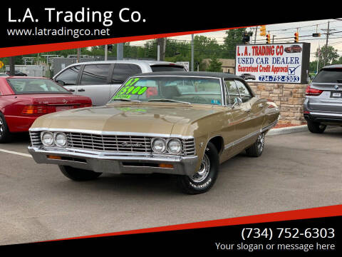 1967 Chevrolet Impala for sale at L.A. Trading Co. in Woodhaven MI