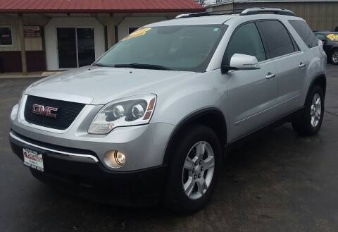 2009 GMC Acadia for sale at Smart Buy Auto in Bradley IL