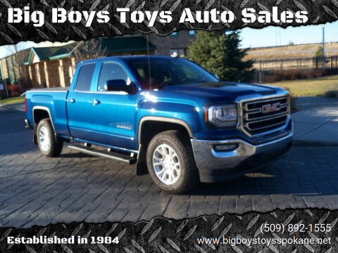 2018 GMC Sierra 1500 for sale at Big Boys Toys Auto Sales in Spokane Valley WA