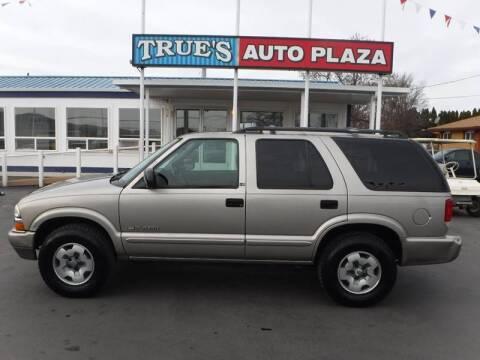 2003 Chevrolet Blazer for sale at True's Auto Plaza in Union Gap WA