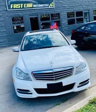 2013 Mercedes-Benz C-Class for sale at Fast Car Automotive in Ypsilanti MI