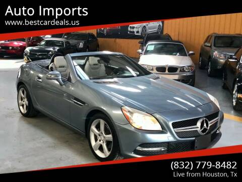 2012 Mercedes-Benz SLK for sale at Auto Imports in Houston TX