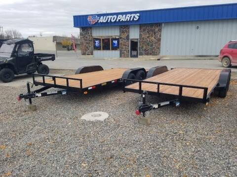 2021 BB CAR HAULER 7X14 for sale at Bull Mountain Auto, Truck & Trailer Sales in Roundup MT