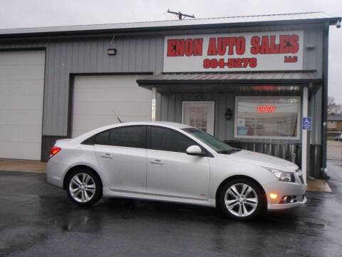 2014 Chevrolet Cruze for sale at ENON AUTO SALES in Enon OH