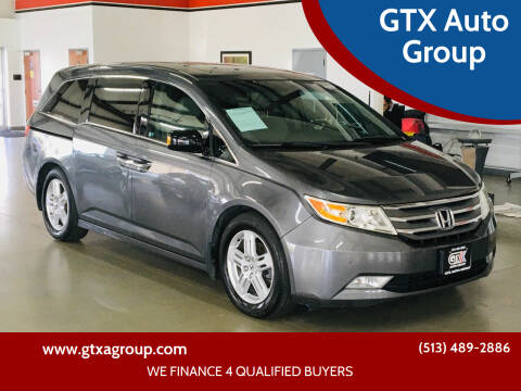 2011 Honda Odyssey for sale at GTX Auto Group in West Chester OH