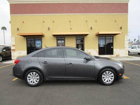 2011 Chevrolet Cruze for sale at Mission Auto & Truck Sales, Inc. in Mission TX