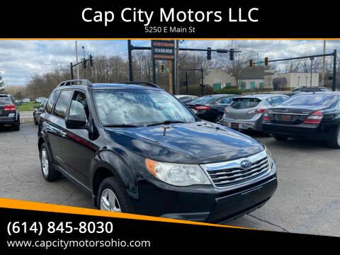 2009 Subaru Forester for sale at Cap City Motors LLC in Columbus OH