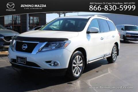 2016 Nissan Pathfinder for sale at Bening Mazda in Cape Girardeau MO