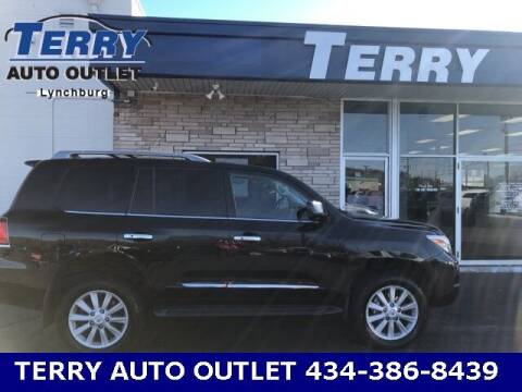 2009 Lexus LX 570 for sale at Terry Auto Outlet in Lynchburg VA