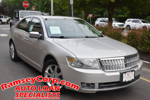 2007 Lincoln MKZ for sale at Ramsey Corp. in West Milford NJ