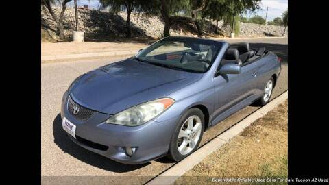 2006 Toyota Camry Solara for sale at Noble Motors in Tucson AZ