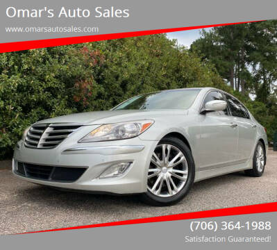 2013 Hyundai Genesis for sale at Omar's Auto Sales in Martinez GA