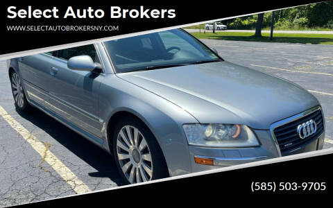 2006 Audi A8 L for sale at Select Auto Brokers in Webster NY