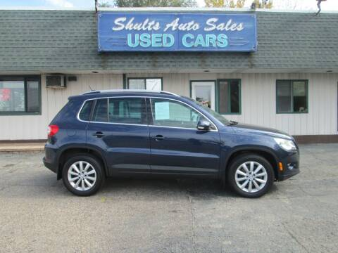 2011 Volkswagen Tiguan for sale at SHULTS AUTO SALES INC. in Crystal Lake IL