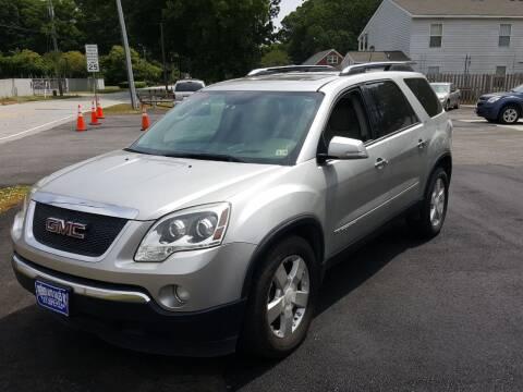 2007 GMC Acadia for sale at Premier Auto Sales Inc. in Newport News VA