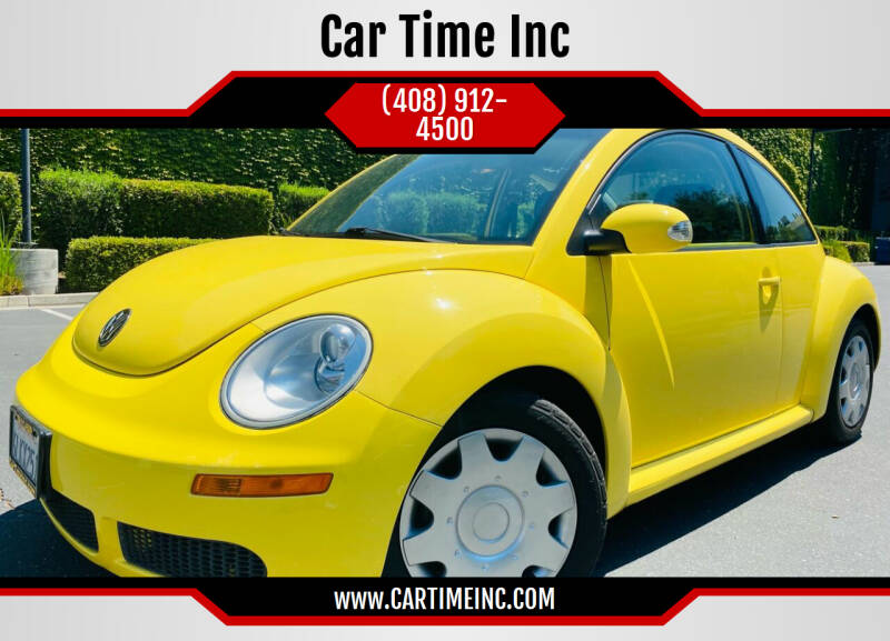 2010 Volkswagen New Beetle for sale at Car Time Inc in San Jose CA