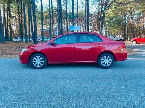 2011 Toyota Corolla for sale at H&C Auto in Oilville VA
