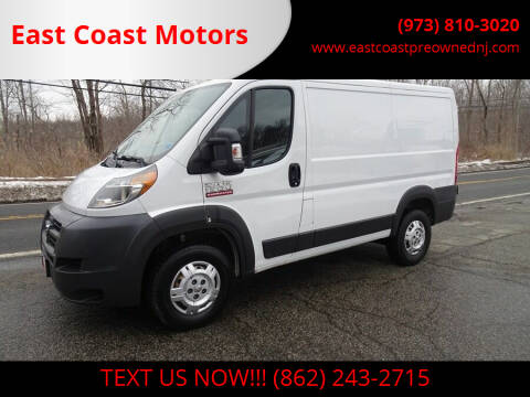 2014 RAM ProMaster Cargo for sale at East Coast Motors in Lake Hopatcong NJ