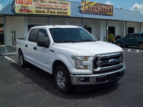 2017 Ford F-150 for sale at LONGSTREET AUTO in St Augustine FL