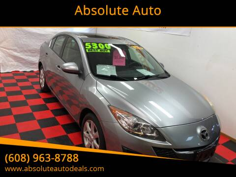 2010 Mazda MAZDA3 for sale at Absolute Auto in Baraboo WI