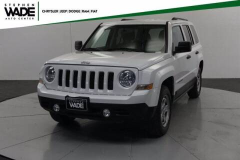 2017 Jeep Patriot for sale at Stephen Wade Pre-Owned Supercenter in Saint George UT