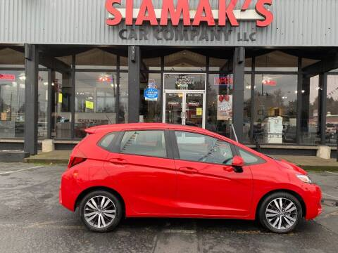 2017 Honda Fit for sale at Siamak's Car Company llc in Salem OR