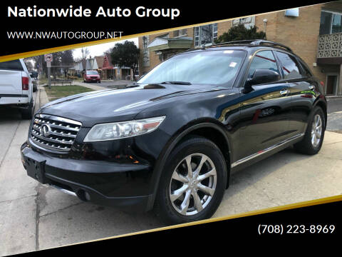 2008 Infiniti FX35 for sale at Nationwide Auto Group in Melrose Park IL