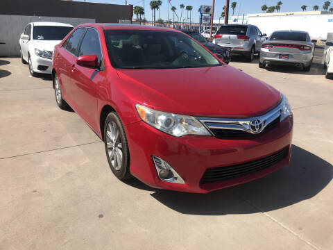 2014 Toyota Camry for sale at Town and Country Motors in Mesa AZ