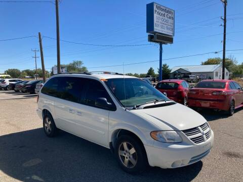 2007 Dodge Grand Caravan for sale at AFFORDABLY PRICED CARS LLC in Mountain Home ID