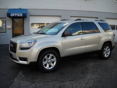 2014 GMC Acadia for sale at Best Wheels Imports in Johnston RI