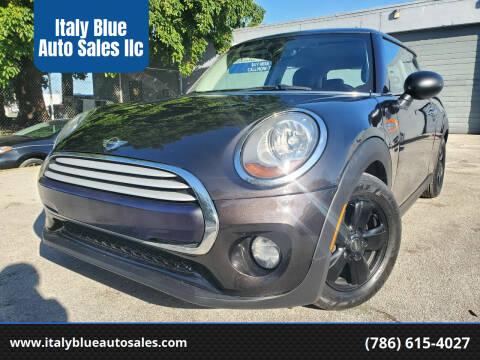 2015 MINI Hardtop 2 Door for sale at Italy Blue Auto Sales llc in Miami FL