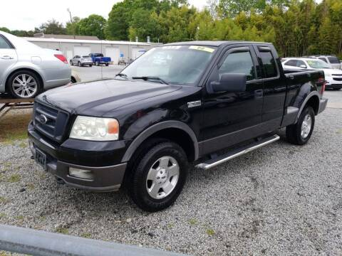 2004 Ford F-150 for sale at TR MOTORS in Gastonia NC