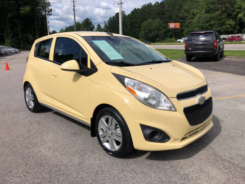 2013 Chevrolet Spark for sale at Galaxy Auto Sale in Fuquay Varina NC