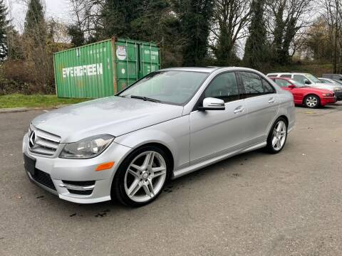 2013 Mercedes-Benz C-Class for sale at KARMA AUTO SALES in Federal Way WA