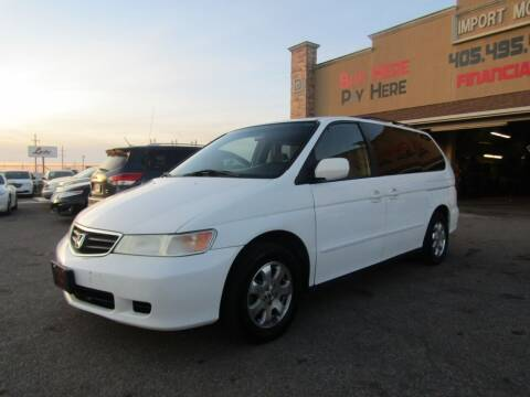 2002 Honda Odyssey for sale at Import Motors in Bethany OK