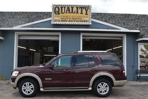 2006 Ford Explorer for sale at Quality Pre-Owned Automotive in Cuba MO