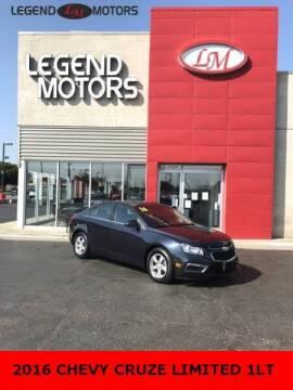 2016 Chevrolet Cruze Limited for sale at Legend Motors of Detroit - Legend Motors of Ferndale in Ferndale MI