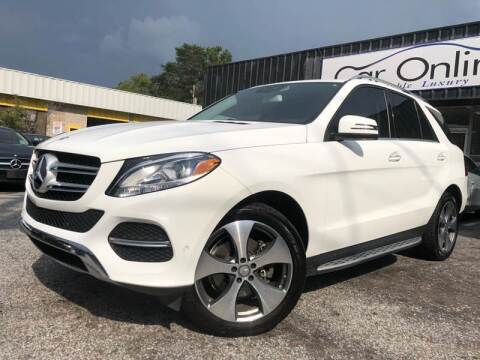 2016 Mercedes-Benz GLE for sale at Car Online in Roswell GA