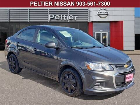 2019 Chevrolet Sonic for sale at TEX TYLER Autos Cars Trucks SUV Sales in Tyler TX