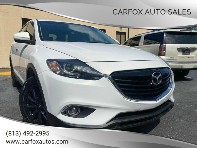 2015 Mazda CX-9 for sale at Carfox Auto Sales in Tampa FL