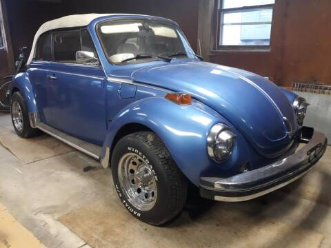 1978 Volkswagen Beetle Convertible for sale at Naperville Auto Haus Classic Cars in Naperville IL