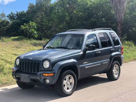 2002 Jeep Liberty for sale at L G AUTO SALES in Boynton Beach FL