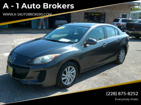 2012 Mazda MAZDA3 for sale at A - 1 Auto Brokers in Ocean Springs MS