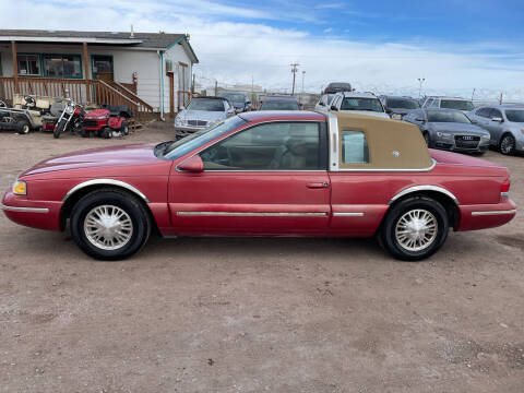 1996 Mercury Cougar for sale at PYRAMID MOTORS - Fountain Lot in Fountain CO