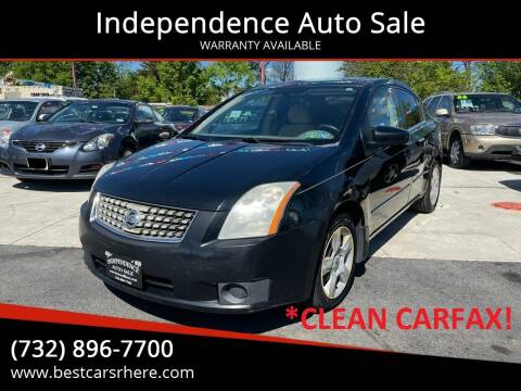 2007 Nissan Sentra for sale at Independence Auto Sale in Bordentown NJ