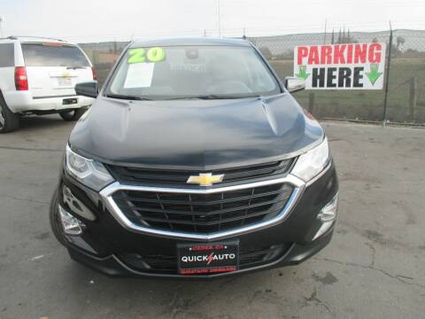 2020 Chevrolet Equinox for sale at Quick Auto Sales in Modesto CA