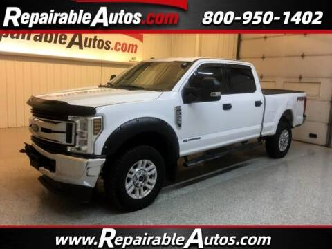 2018 Ford F-250 Super Duty for sale at Ken's Auto in Strasburg ND