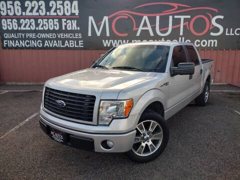 2014 Ford F-150 for sale at MC Autos LLC in Pharr TX